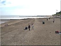 TM1714 : The Beach, Clacton-on-Sea by David Dixon