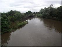 NO3700 : Railway bridge across the River Leven by Tim Glover