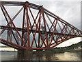 NT1380 : The Forth Bridge - northern span by M J Richardson