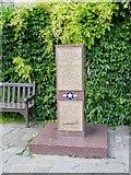 TL8564 : USAAF War Memorial, Abbey Gardens by David Dixon