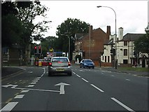 SK5907 : Loughborough Road at Thurcaston Road by Peter Whatley