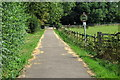 TL0951 : Bridleway towards Willington by Philip Jeffrey