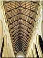 TL8564 : Nave Ceiling, St Edmundsbury Cathedral by David Dixon