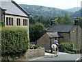 SK2281 : Jaggers Lane, Hathersage by Andrew Hill