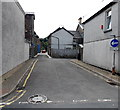 ST0291 : One-way lane from West Taff Street to Hannah Street, Porth by Jaggery