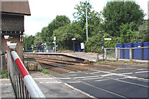 TQ2151 : Betchworth station and level crossing by Dr Neil Clifton