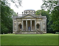 NZ1758 : Palladian Chapel at Gibside by Russel Wills