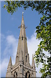 SK9136 : Spire of St Wulfram's Church by Philip Halling