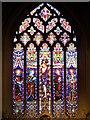 TL9149 : The East Window, Lavenham Church by David Dixon