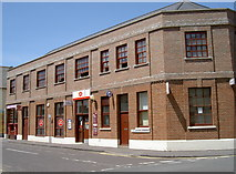 ST3049 : Burnham Post Office by Neil Owen