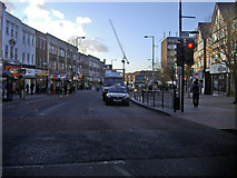 TQ1885 : Wembley High Road by David Howard