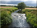 NT6077 : East Lothian Landscape : The River Tyne at Knowes Mill Ford by Richard West