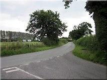 SJ5250 : Lane Junction at Egerton by Jeff Buck