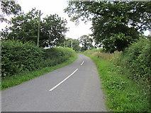 SJ5250 : Lane to Hetherson Green by Jeff Buck