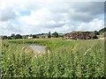 TF3464 : Southern section of moat, Bolingbroke Castle by Christine Johnstone