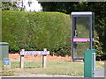 TM2737 : Telephone Box & Cavendish Road sign by Adrian Cable
