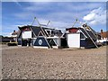 TM4656 : Aldeburgh Lifeboat Station by David Dixon