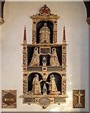 TM2749 : Wall Monument, St Mary's Church, Woodbridge by David Dixon