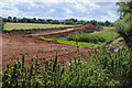 SO8933 : Remains of railway embankment over Avon floodplain by Philip Halling