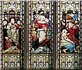 TM2749 : Stained Glass Window Detail by David Dixon