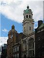 TQ3183 : Two cupolas, Angel, Islington by Jim Osley