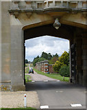 SK8932 : View through the gatehouse by Alan Murray-Rust