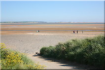 SD1578 : Beach access at Haverigg by Andy Deacon