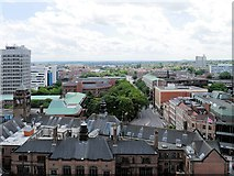SP3378 : Coventry from St Michael's Tower by David Dixon
