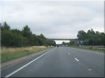 SK2331 : A50 eastbound at Hoon Lane bridge by Colin Pyle