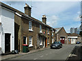 TQ2636 : Cottages, Alpha Road, West Green, Crawley by Robin Webster