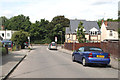 TQ2057 : Langley Vale:  Western end of Grosvenor Road by Dr Neil Clifton