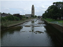 TF3244 : River Witham, Boston by JThomas