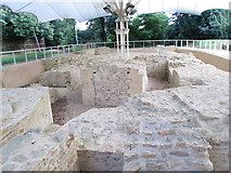 SP3509 : Remains of Bishop's Palace - off Church Green by Betty Longbottom