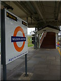 TQ2182 : Way out, Willesden Junction Railway Station by Robin Sones
