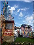 NT6779 : Coastal East Lothian : Help ! I'm A Pavilion, Get Me Out Of Here! by Richard West