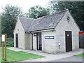 SP4408 : Sanitary Station - Eynsham Lock by Betty Longbottom
