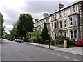 NZ2565 : Eslington Terrace, south of Clayton Road, Jesmond by Andrew Curtis