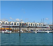 TQ3303 : Brighton Marina looking towards the boardwalk by Paul Gillett