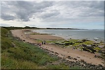 NU2422 : Embleton Bay by DS Pugh