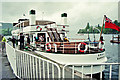 SD4096 : Passengers alighting from the Swan at Bowness-on-Windermere, Cumbria by P L Chadwick