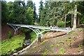 NU0702 : Iron footbridge by DS Pugh