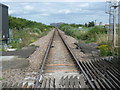 TQ8475 : View eastwards from Stoke Level Crossing by Marathon