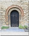 SP4416 : St Mary Magdalen - Norman Doorway by Betty Longbottom