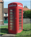 TA0721 : K6 Telephone Box, Cross Street by David Wright