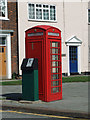 TA0721 : K6 Telephone Box, Market Place by David Wright