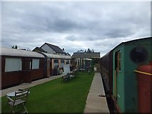 SX4563 : Preserved railway carriages at Bere Ferrers by David Smith
