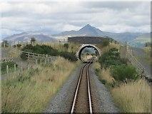 SH5840 : Welsh Highland Railway line by Nigel Thompson