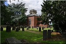 SK0816 : Church of St Nicholas, Mavesyn Ridware by Tim Heaton