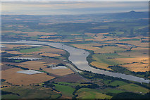NO1621 : The Tay below Kinfauns from the air by Mike Pennington