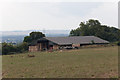 SU6614 : Barn south of Glidden Farm by Peter Facey